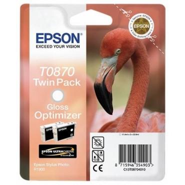 Epson T0870 Patron Gloss Optimizer 2x11ml (Eredeti)