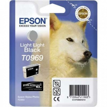 Epson T0969 Patron Light Light Black 11,4ml (Eredeti)