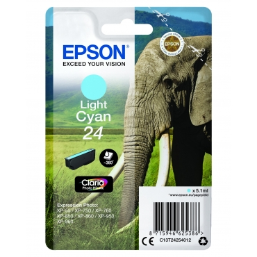 Epson T2425 Patron Light Cyan 5,1ml 24 (Eredeti)