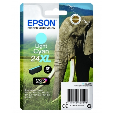 Epson T2435 Patron Light Cyan 9,8ml 24XL (Eredeti)