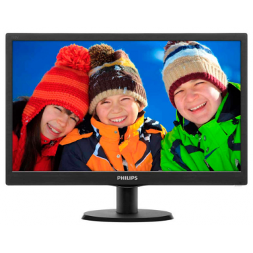 "Philips LED monitor 193V5LSB2/10, V-line, 18.5"" 1366x76860Hz, 16:9, TN, 5ms, 20"