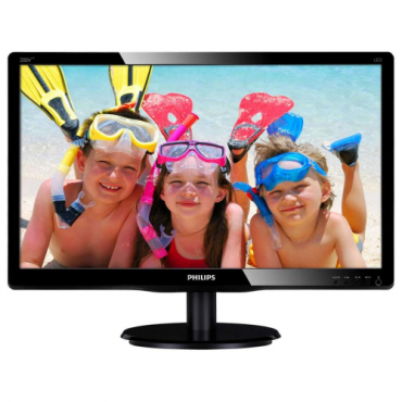 "Philips LED monitor 200V4LAB2/00, V-line, 19.5"" 1600x90060Hz, 16:9, TN, 5ms, 20"