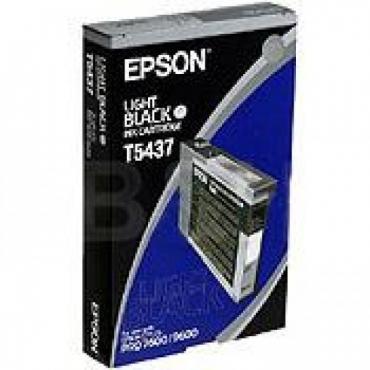 Epson T5437 Patron Light Black 110ml (Eredeti)