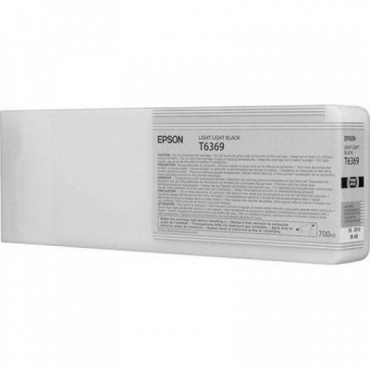 Epson T6369 Patron Light Light Black 700ml (Eredeti)