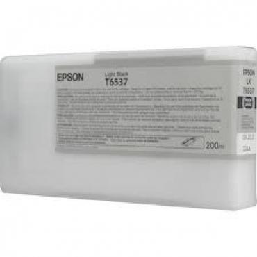 Epson T6537 Patron Light Black 200ml (Eredeti)