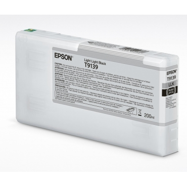 Epson T9139 Patron Light Light Black 200ml (Eredeti)