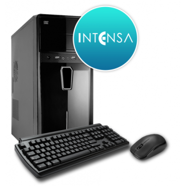 INTENSA PC - HPC-I3S-SSDV5 (I3 7100/8GB DDR4/240GB/NO DVD/iVGA/400W/BILL+EGÉR)