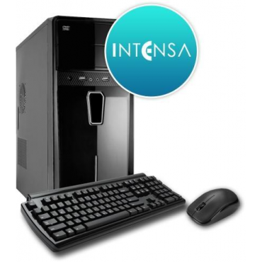 INTENSA PC - HPC-I3S-SSDV7 (I3 8100/8GB DDR4/240GB/NO DVD/iVGA/400W/BILL+EGÉR)
