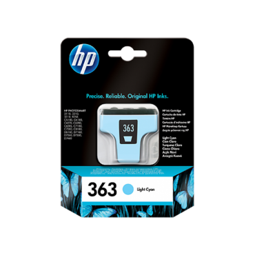 HP C8774EE Patron Light Cyan No.363 (Eredeti)