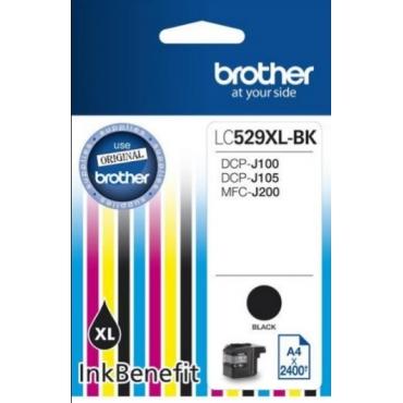 Brother LC529XLBK tintapatron (Eredeti)