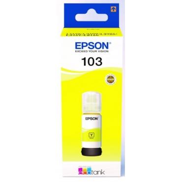 Epson T00S4 Tinta Yellow 70ml No.103 (Eredeti)