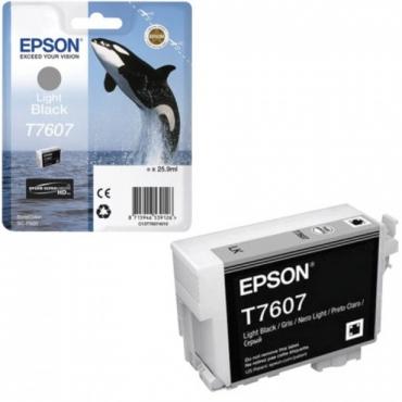 Epson T7607 Patron Light Bk 26ml (Eredeti)